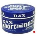 DAX - POMMADE SHORT NEAT LIGH HAIRDRESS (BLEU) 3.5oz